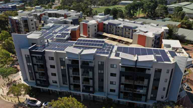 Commercial solar power system Perth