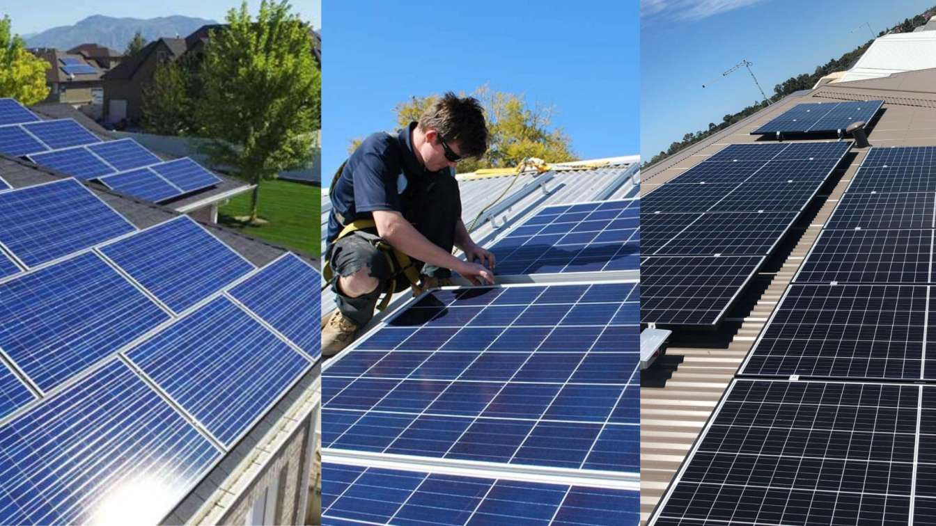 Residential solar power panel systems in Perth WA