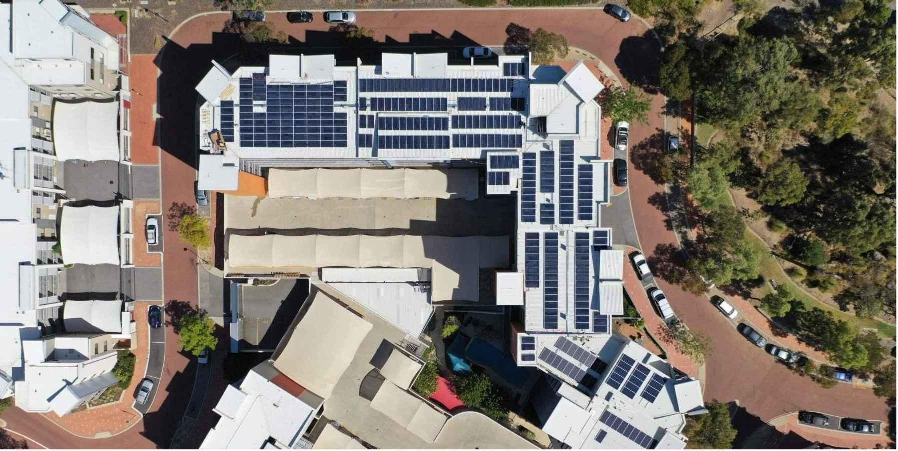 Solar system installation in Perth WA